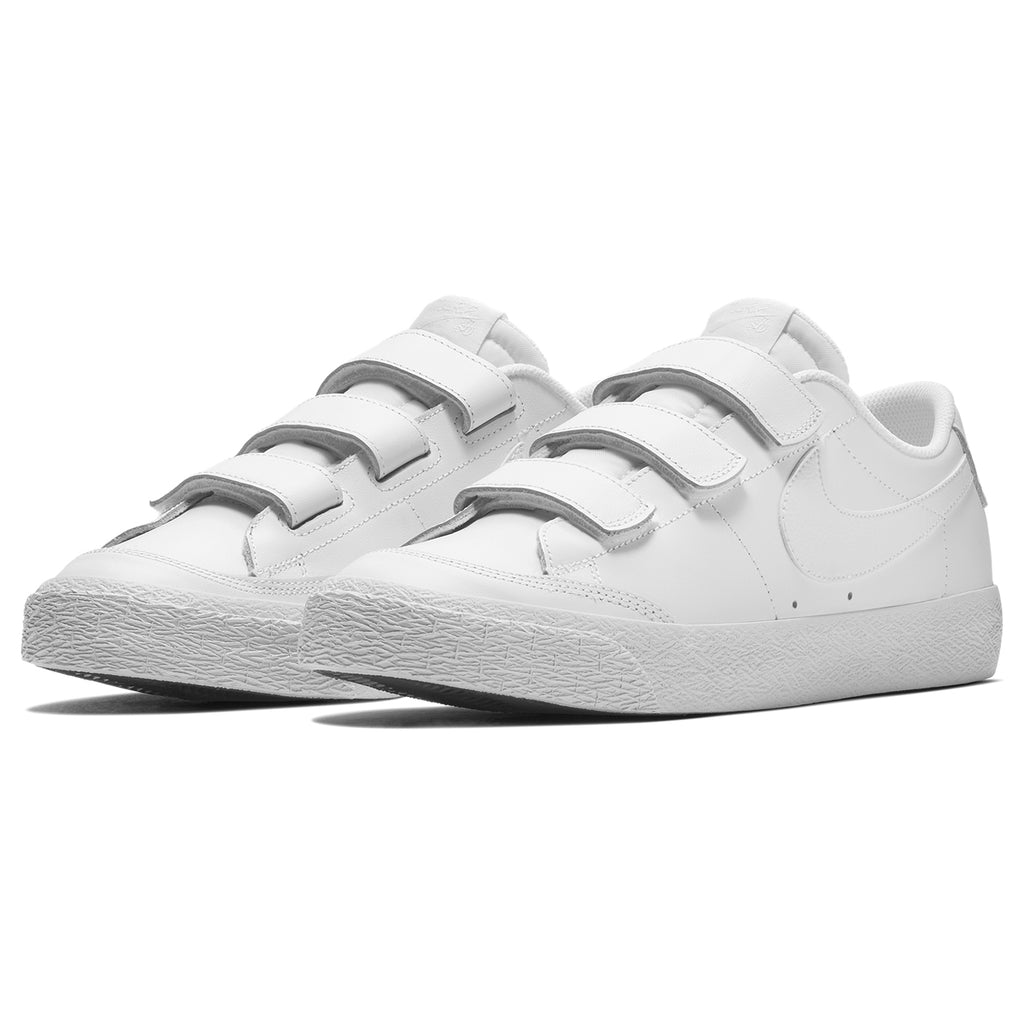 Nike SB Zoom Blazer AC XT Shoes in White / White - Black - PAir