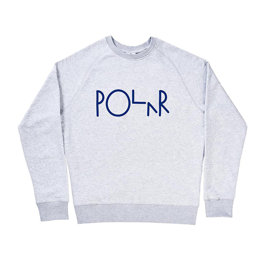 Polar Skate Co Basic Sweatshirt in Heather Grey