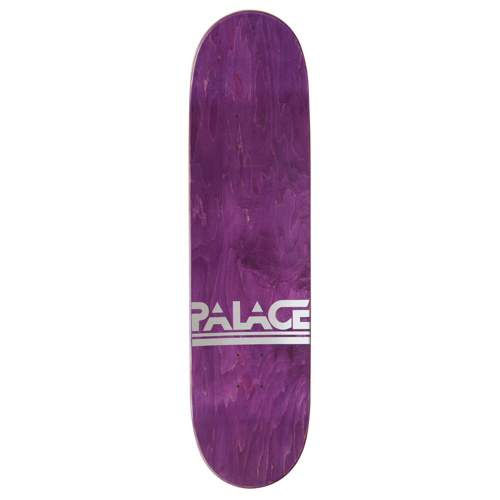 "Palace Silver GTI Deck in 8.2"" - Top"