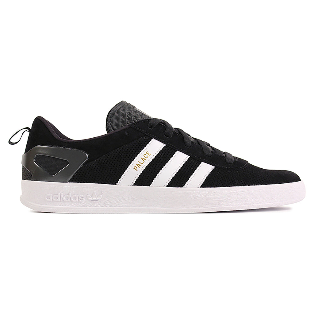 Palace x Adidas Pro Shoes in Core Black / White / Gold