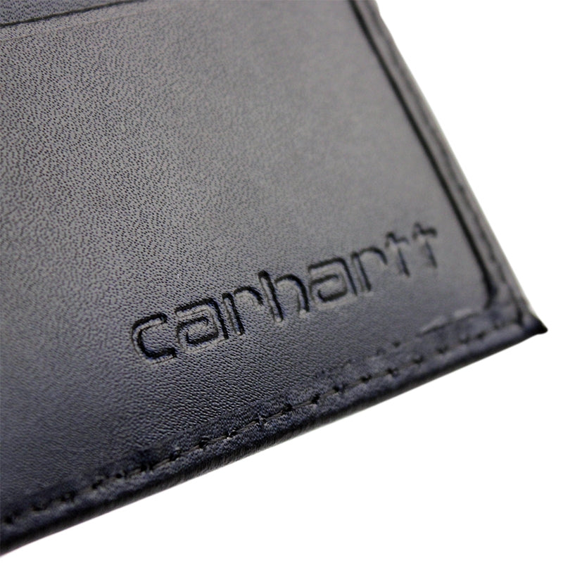 Carhartt WIP Mini Wallet in Blue Penny - Logo