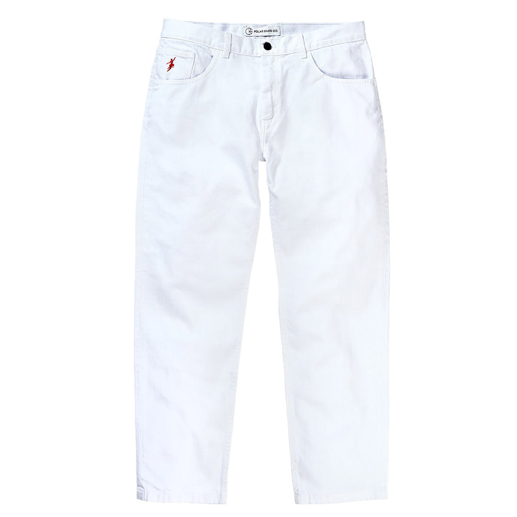 Polar Skate Co 90's Jeans in White