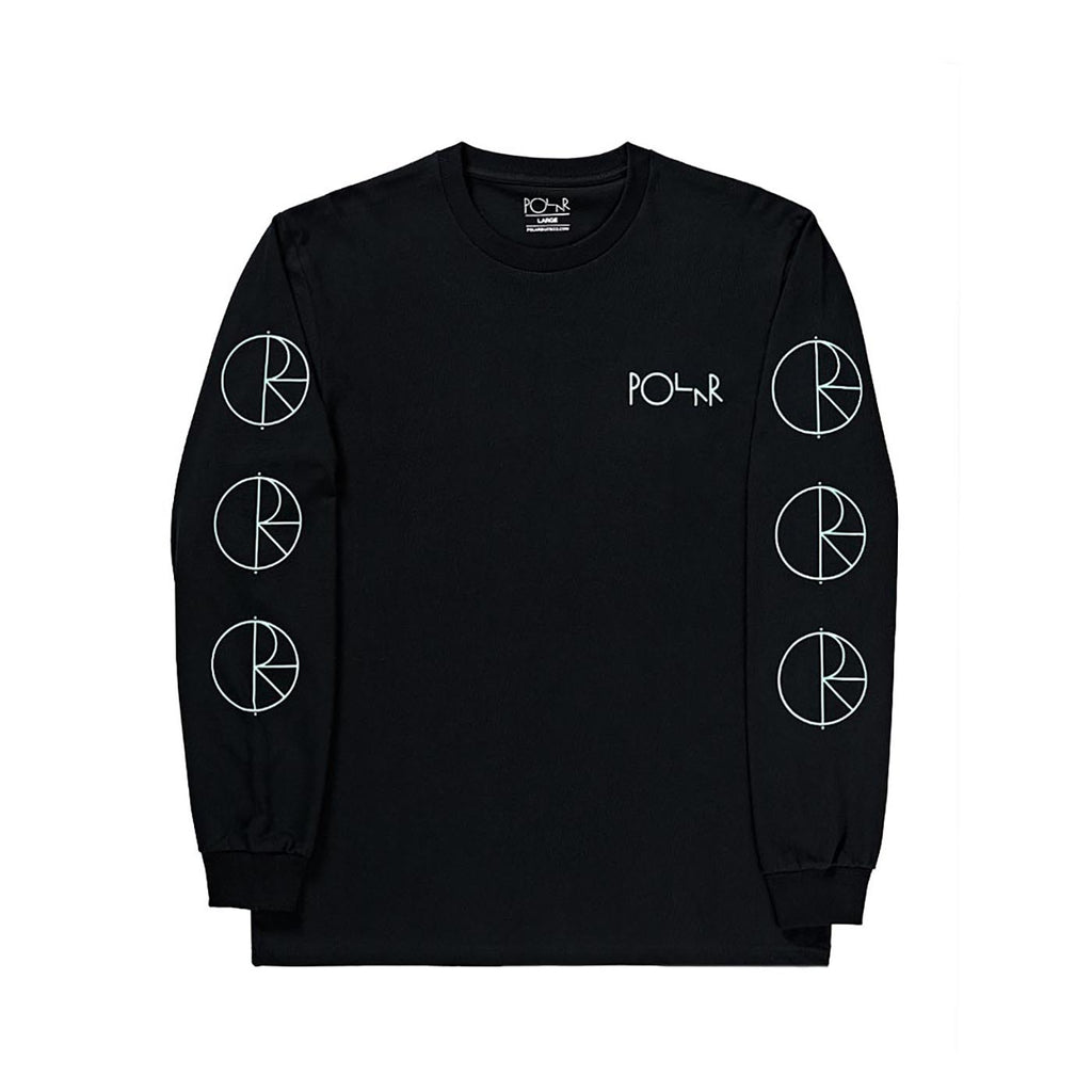 Polar Skate Co Racing L/S T Shirt - Black / Teal