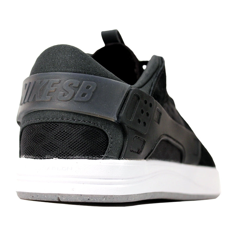 Nike SB Eric Koston Huarache Shoes in Black / Anthracite / White - Heel