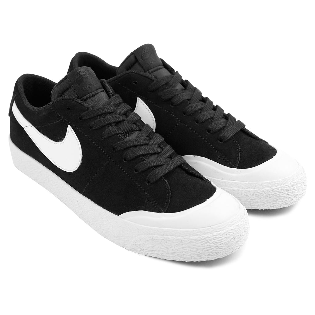 reputable site 465e6 41084 Nike SB Blazer Zoom Low XT Shoes - Black / White - Gum Light ...