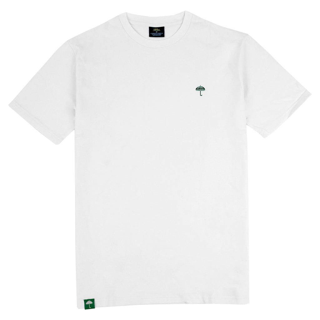 Helas Classic T Shirt in White / Green