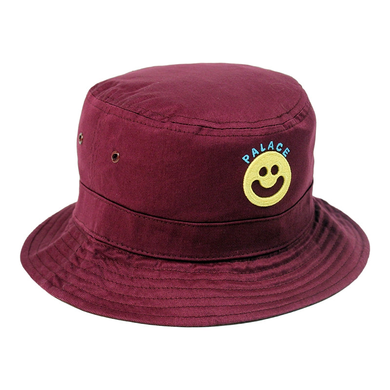 Palace Smiler Bucket Hat in Cordovan