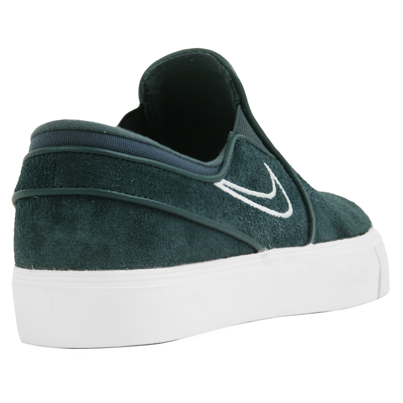 dc5cfdf61a021 Zoom Stefan Janoski Slip Shoes in Deep Jungle   Barely Grey - White ...