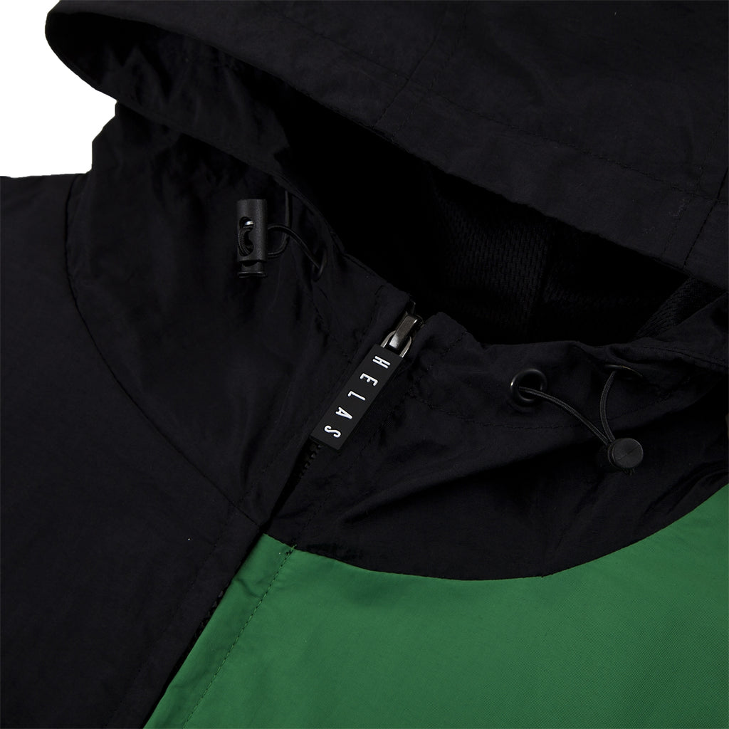 Helas Suspence Hooded Jacket in Black - Zip Pull