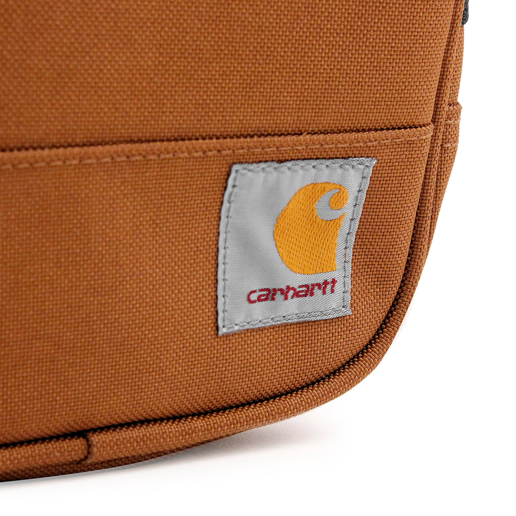 Carhartt Watts Essentials Bag in Hamilton Brown - Label