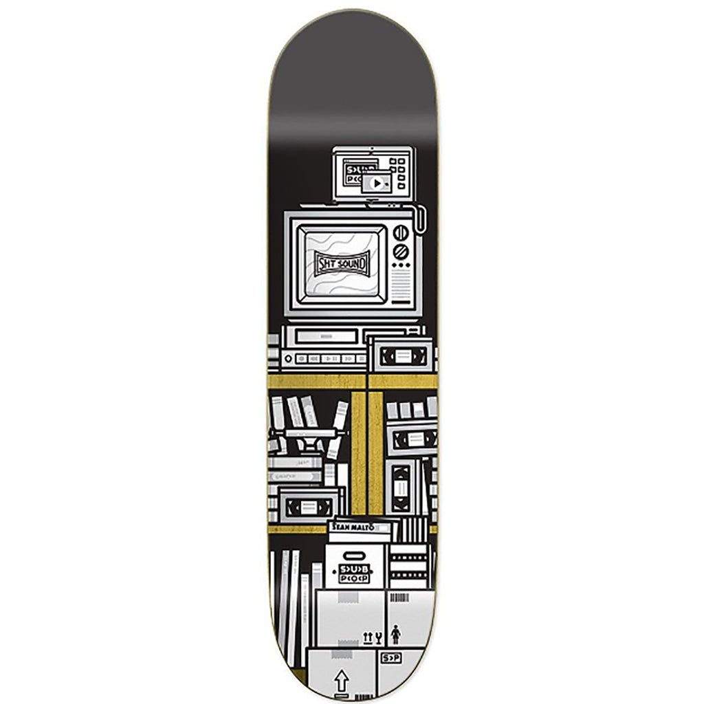Girl Skateboards x Subpop Sean Malto Skateboard Deck in 8.25""