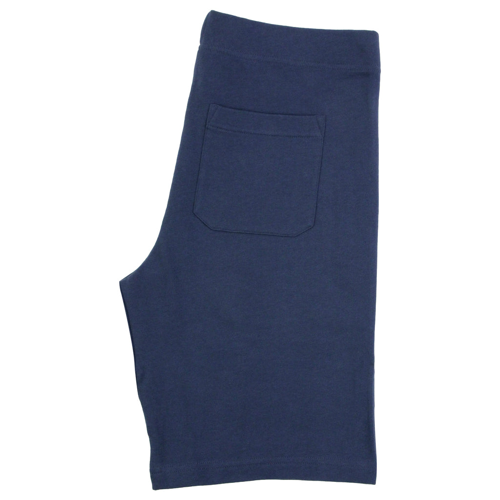Carhartt College Sweat Short in Blue / White - Closed