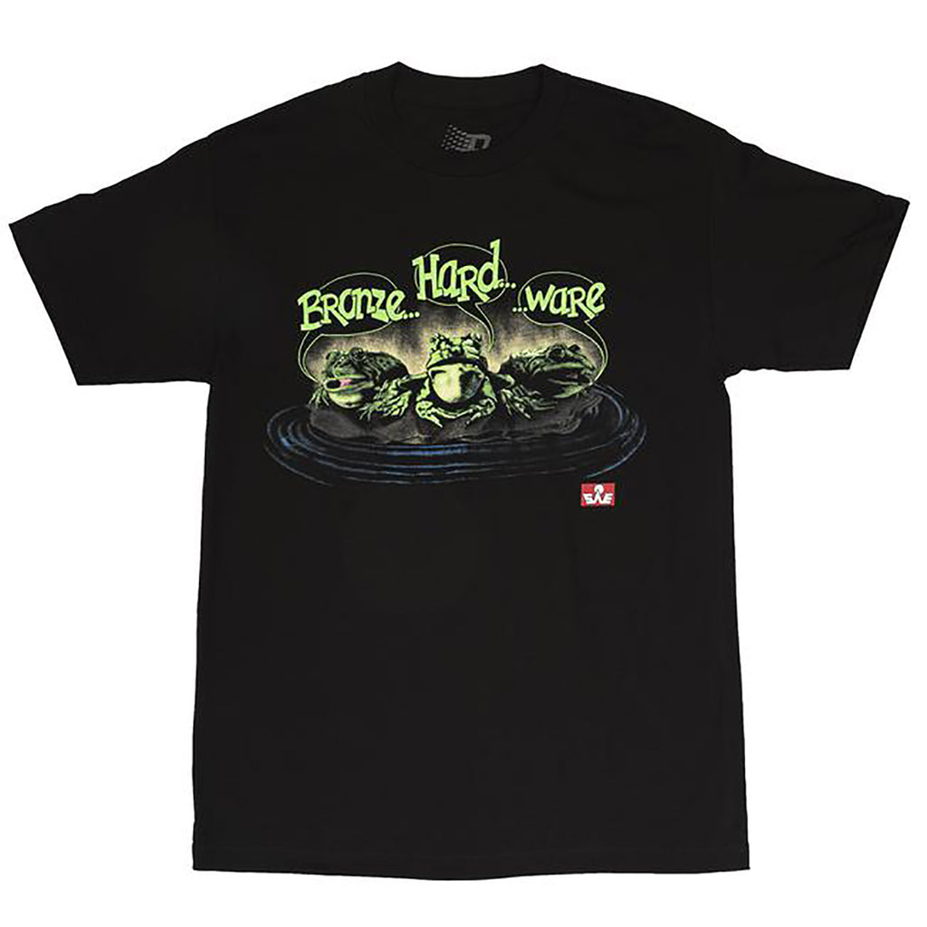 Bronze 56k Frog T Shirt in Black