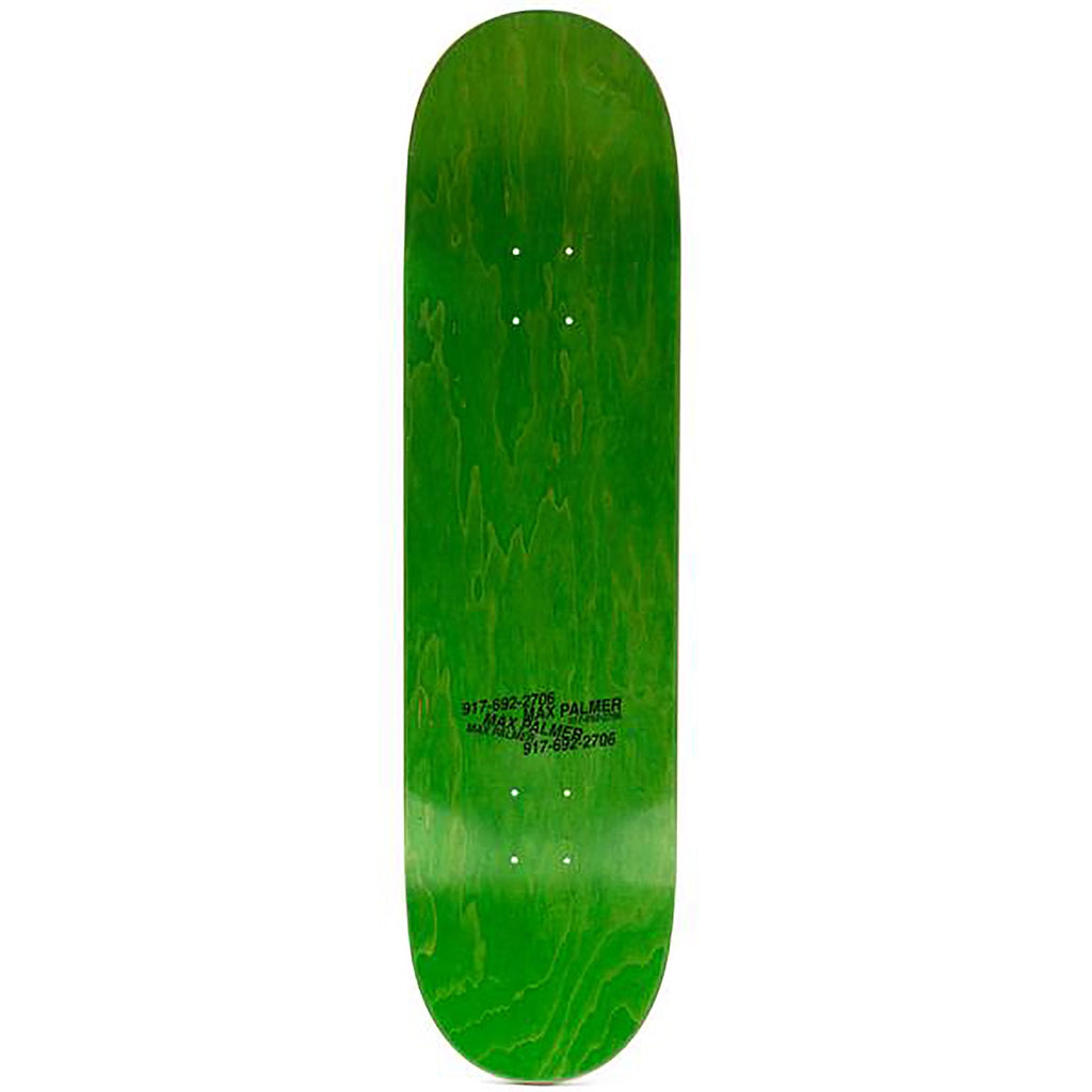 "Call Me 917 Max Palmer 'Till Infinity Skateboard Deck in 8.25"" - Top"