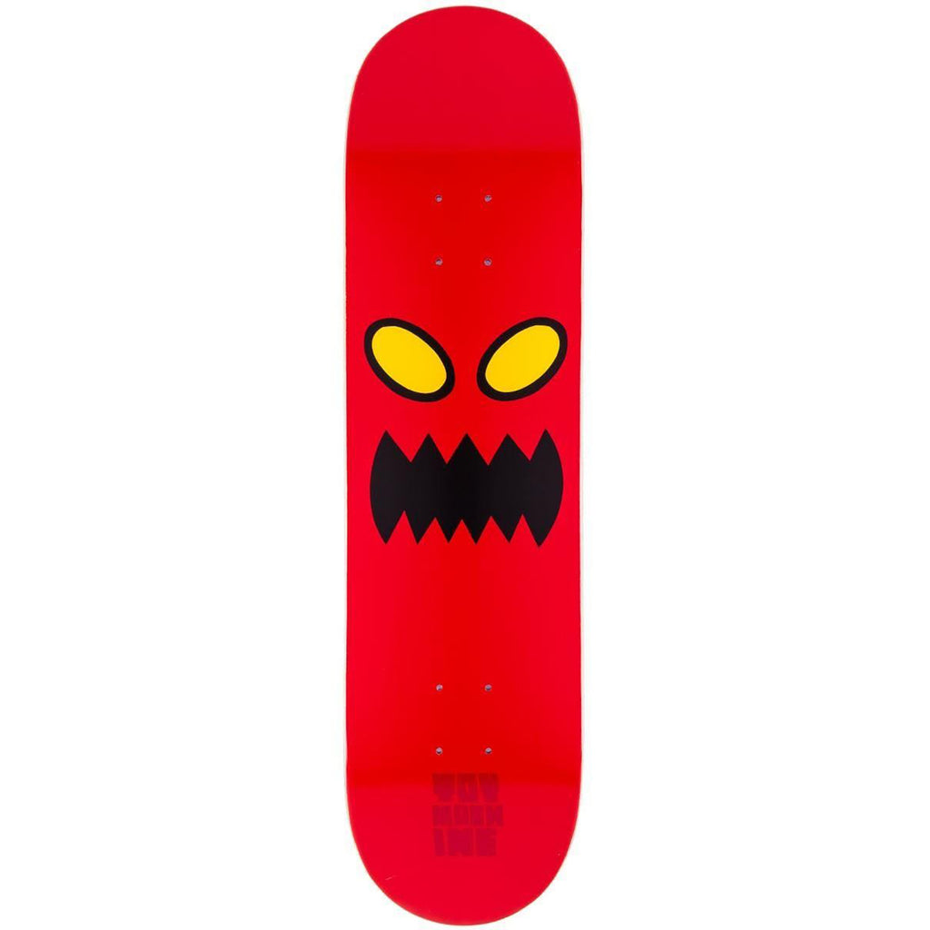 Toy Machine Monster Face Skateboard Deck in 8""