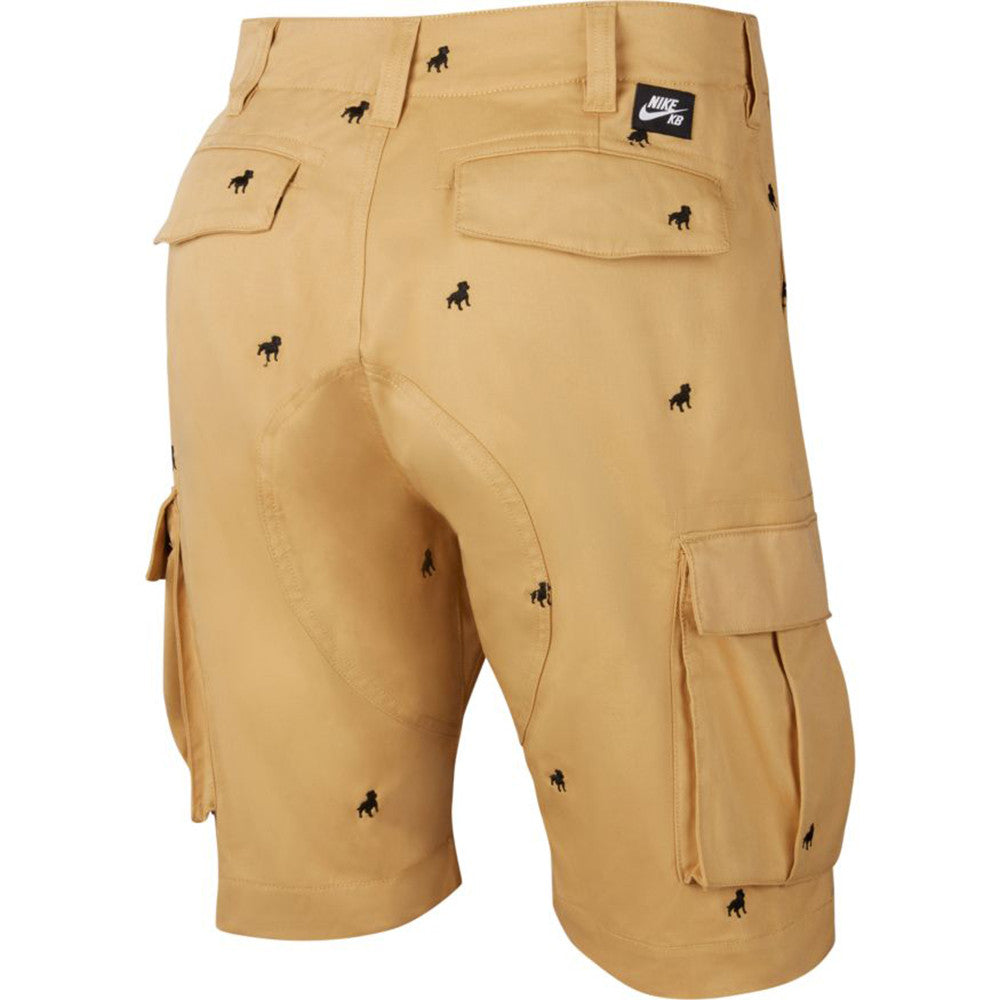 Nike SB Orange Label Kevin Bradley Shorts ISO Club Gold / Black - Back