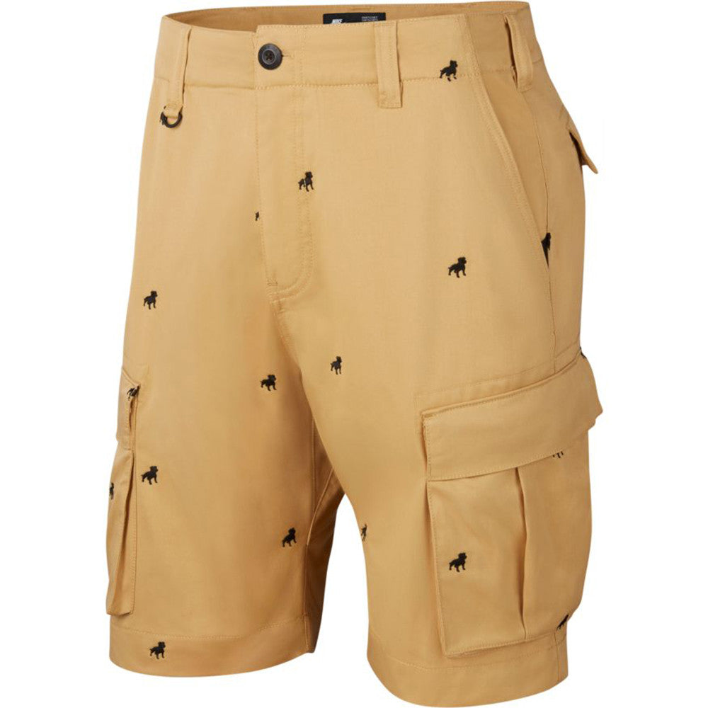 Nike SB Orange Label Kevin Bradley Shorts ISO Club Gold / Black - Front