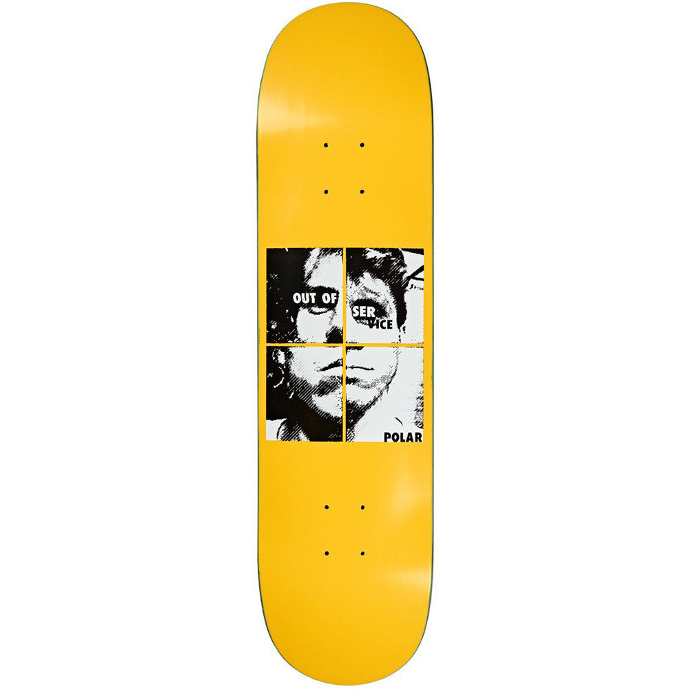 "Polar Skate Co Dane Brady Out of Service Skateboard Deck 8.625"" - Bottom"