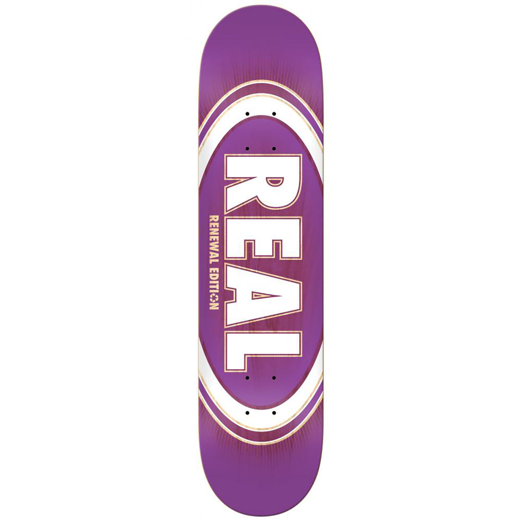 Real Skateboards Oval Burst Fade Skateboard Deck in 8.25""
