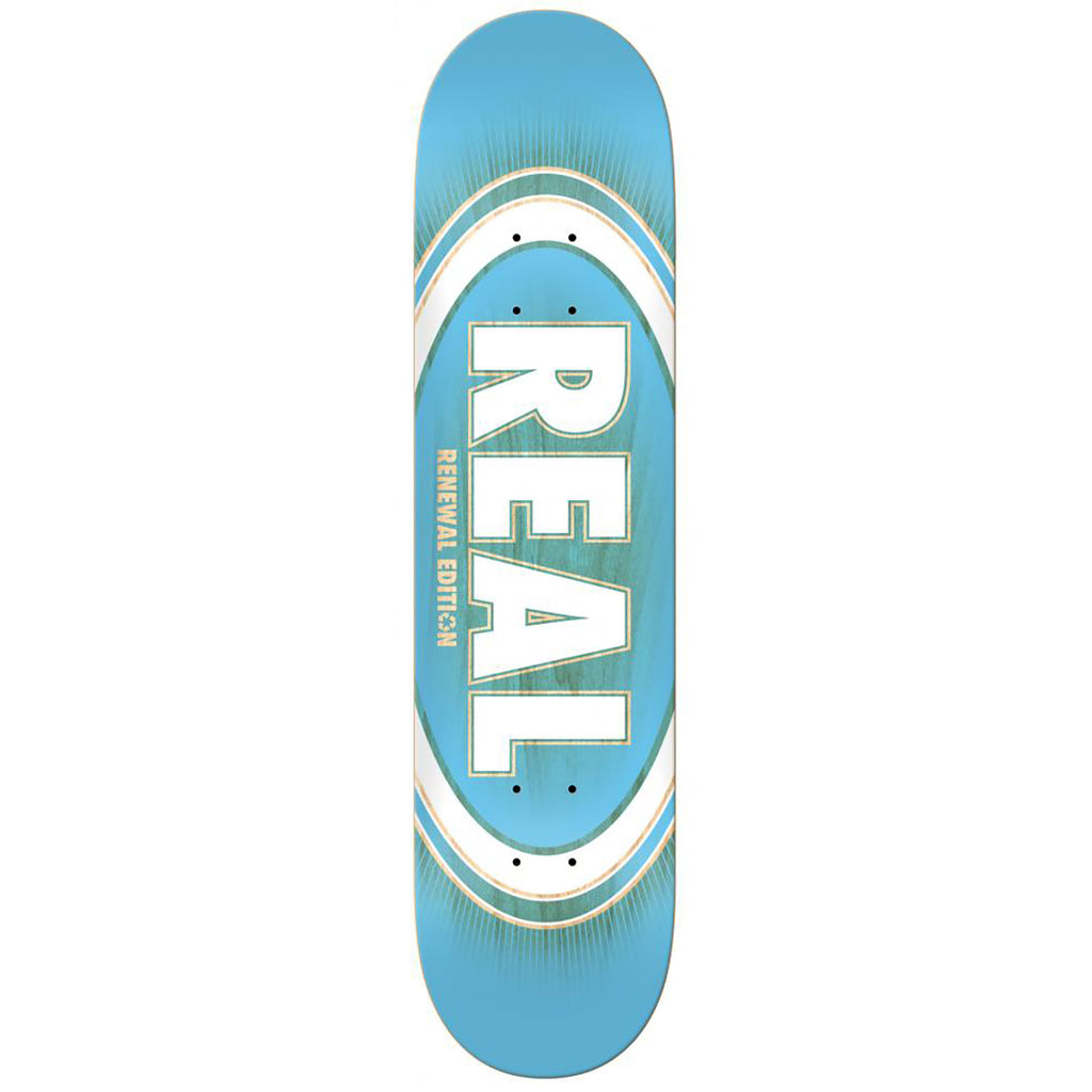 Real Skateboards Oval Burst Fade Skateboard Deck in 8.5""