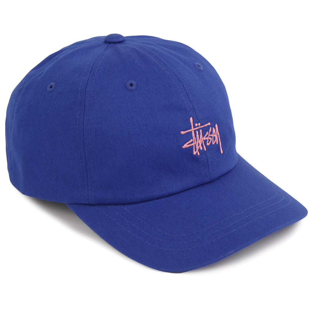 Stussy Stock Low Pro Cap in Royal