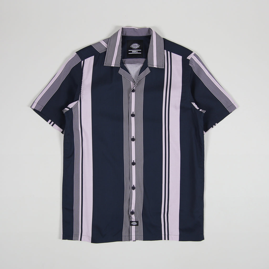 Dickies Forest Park Shirt Dark Blue - Front