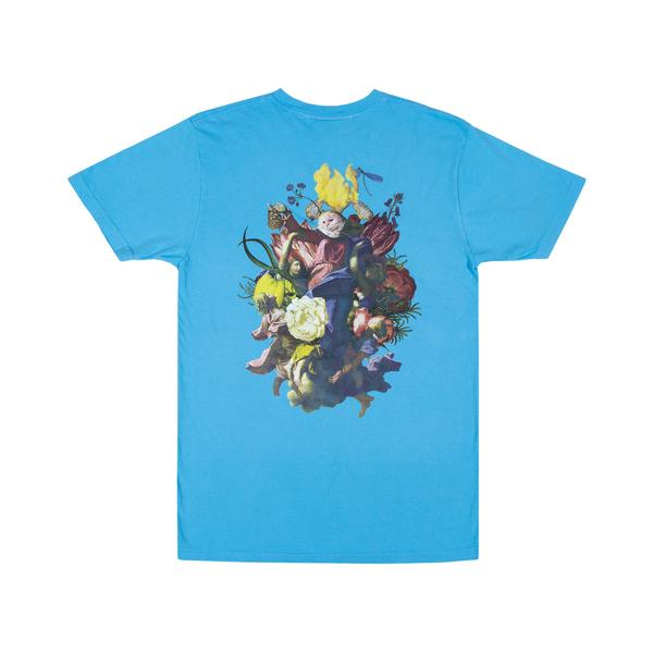 RIPNDIP Heavenly Bodies T Shirt in Light Blue - Back