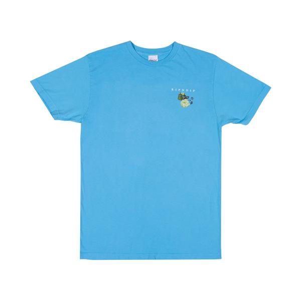 RIPNDIP Heavenly Bodies T Shirt in Light Blue