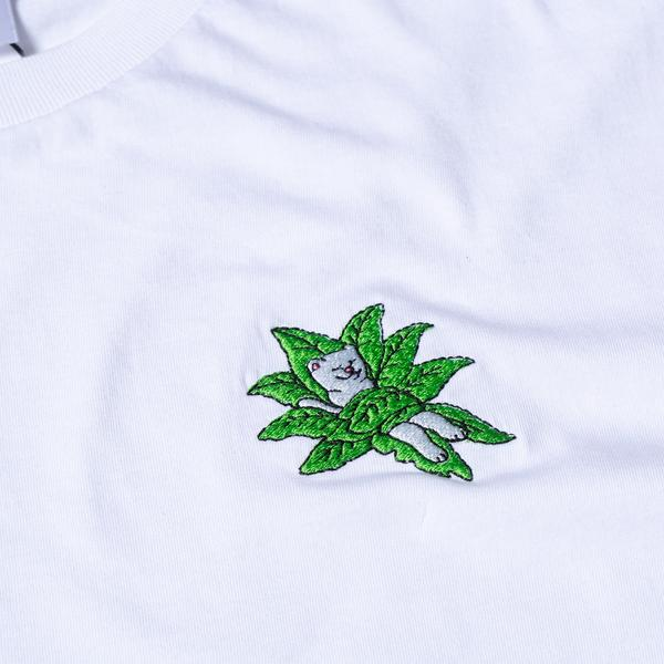 RIPNDIP Tucked In T Shirt in White - Embroidery