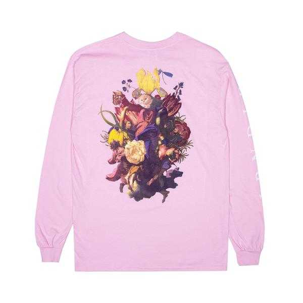 RIPNDIP Heavenly Bodies L/S T Shirt in Pink