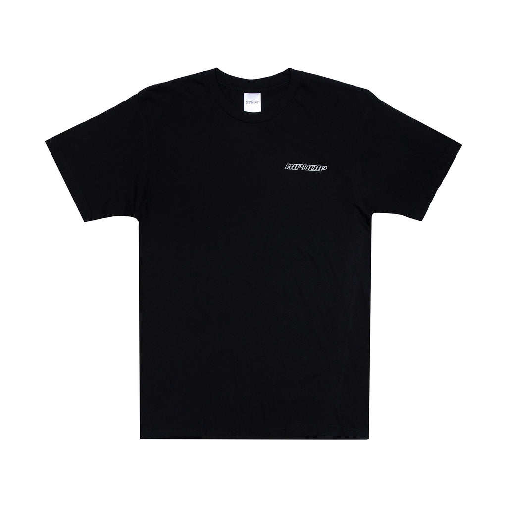 RIPNDIP Cyborg T Shirt in Black - Front