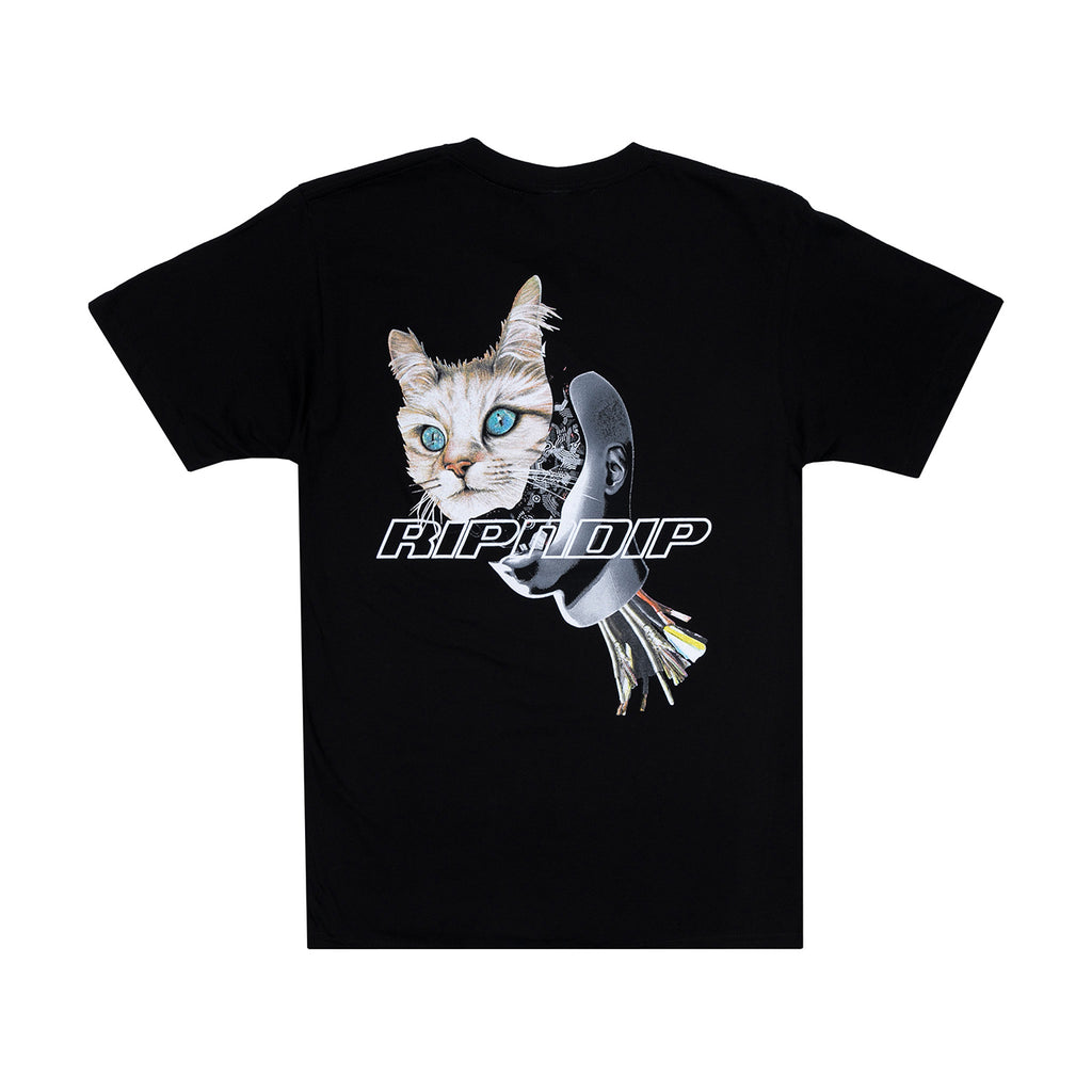 RIPNDIP Cyborg T Shirt in Black