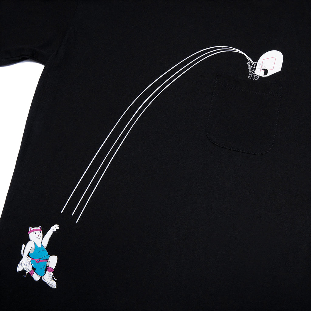 RIPNDIP Hoops Pocket T Shirt in Black - Detail