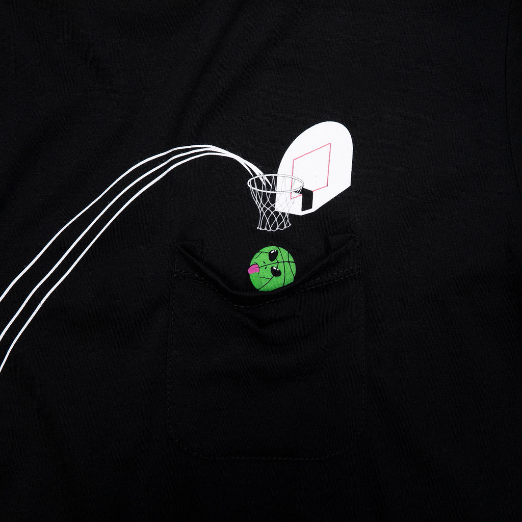 RIPNDIP Hoops Pocket T Shirt in Black - Detail 2