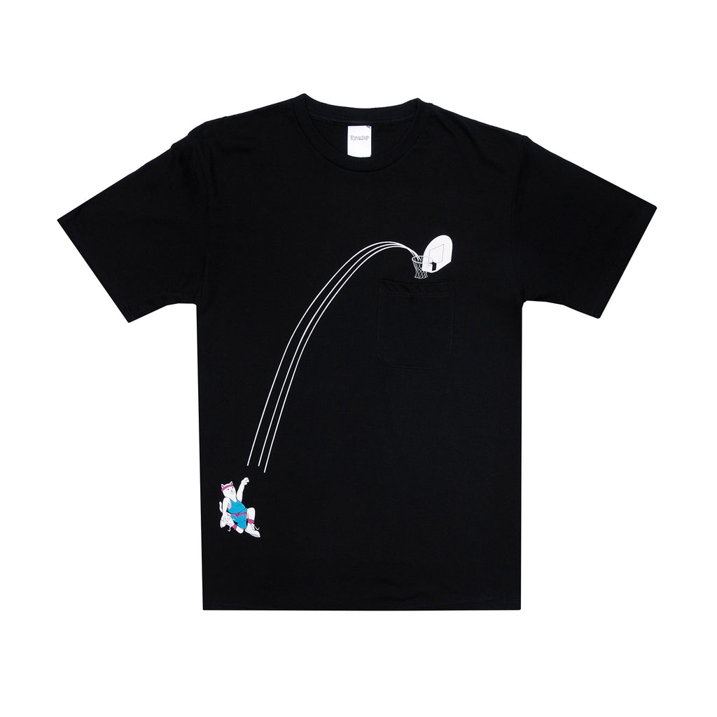 RIPNDIP Hoops Pocket T Shirt in Black