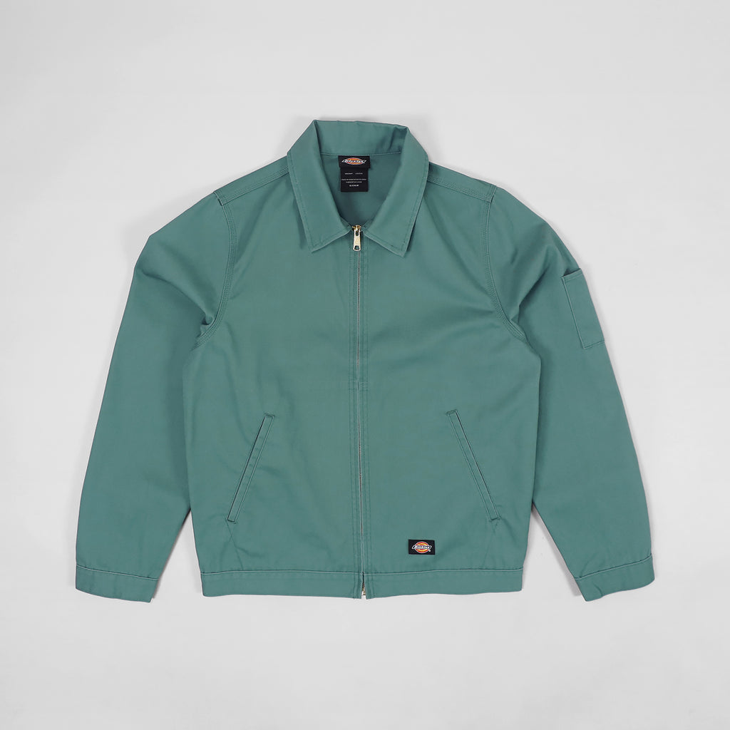 Dickies Unlined Eisenhower Jacket Lincoln Green - Front