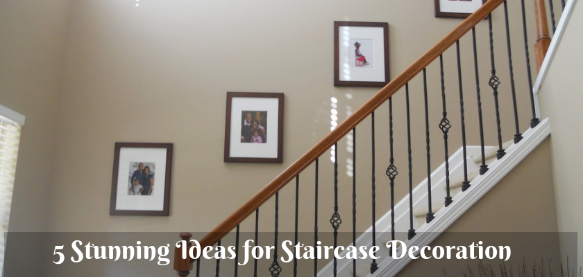 5 Stunning Ideas for Staircase Decoration