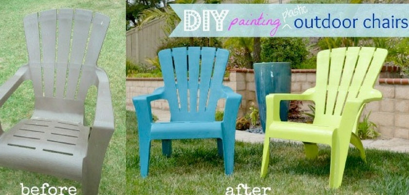 7 Easy Steps to Paint Plastic Chairs