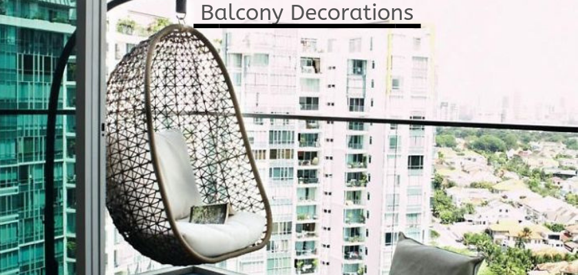 Balcony Decorations: Update Your Balcony by Following DIY Steps
