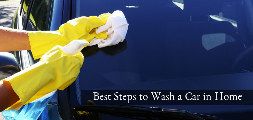 Best Steps to Wash a Car in Home