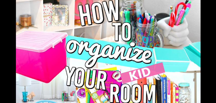 Clever Ideas to Organize Kids Rooms