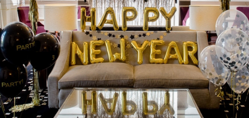 DIY Ideas for New Year Decoration at Home