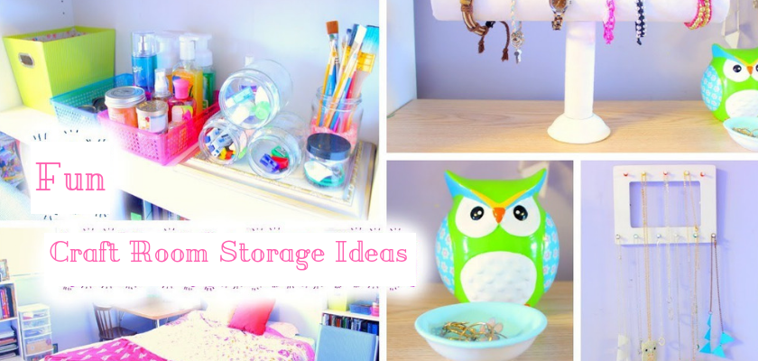 Fun & Amazing Craft Room Storage Ideas