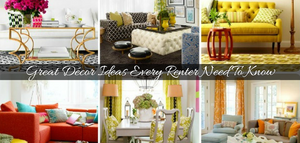 Great Décor Ideas Every Renter Need To Know