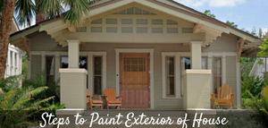 Steps to Paint Exterior of House