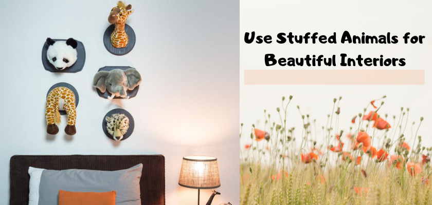 Use Stuffed Animals for Beautiful Interiors