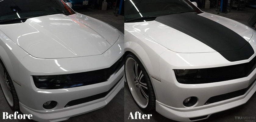 Add Racing Stripes To Your Car with Peel Coat: DIY Car Detailing