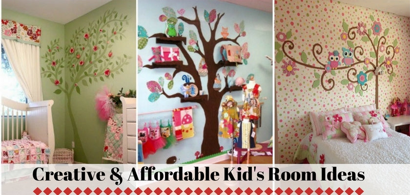 Creative & Affordable Kids Room Ideas