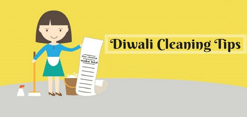 DIY Diwali Cleaning Tips: Make Your Cleaning Easy and Affordable
