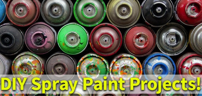DIY Spray Paint Projects You Need To Make This Season